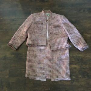 Neiman Marcus suit skirt blazer 14